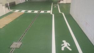 Especialistas en pintura para suelos y garajes en Cantabria con Repinor