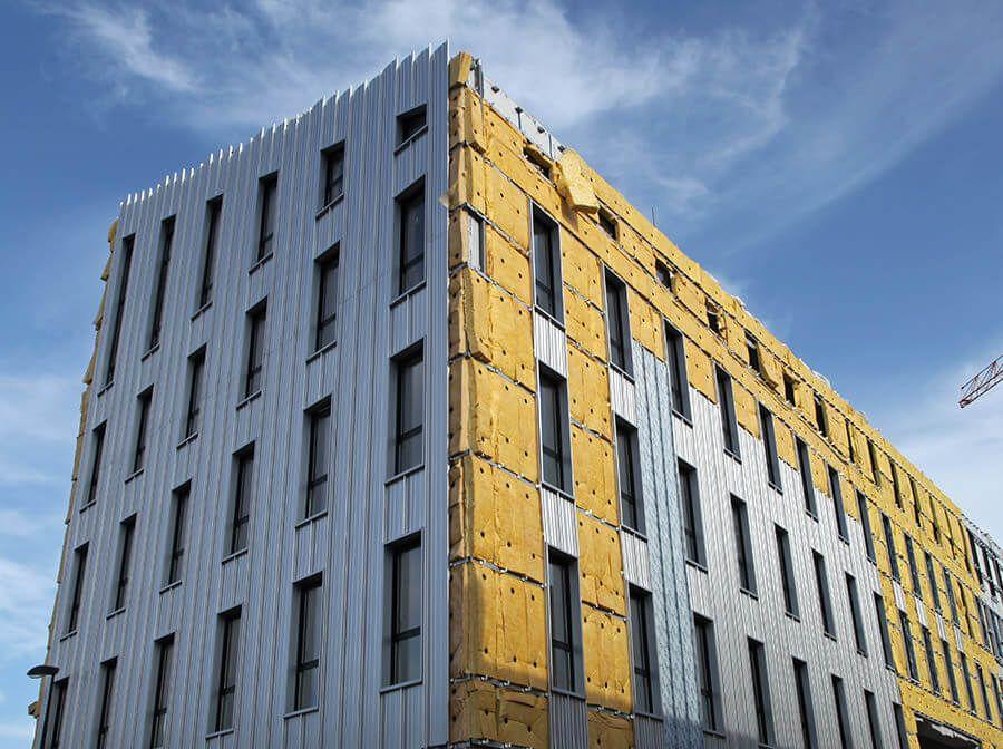 Rehabilitación de fachadas con Repinor profesionales en Cantabria